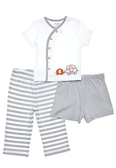 Little Me Newborn 3-Piece Diaper Pant Set