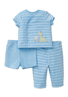 Little Me 3-Piece Giraffe Diaper Set