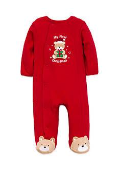 Little Me Gift Bear Footie