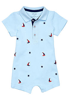 Little Me Sailboat Romper