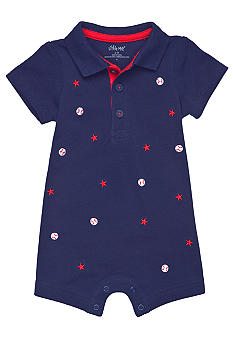 Little Me Baseball Romper