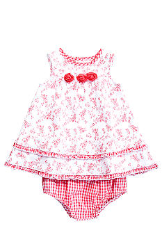 Little Me Rosette Flower Dress with Panty