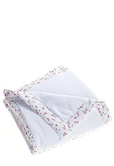Little Me Dainty Blossoms Quilted Stroller Blanket