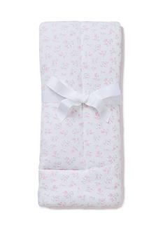 Little Me Floral Puff Blanket