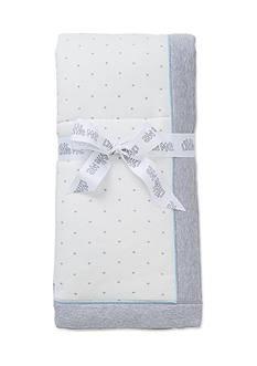 Little Me Star Printed Pup Blanket
