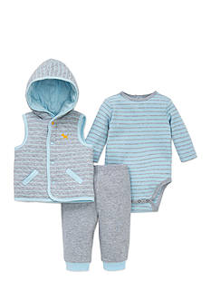 Little Me 3-Piece Vest Set