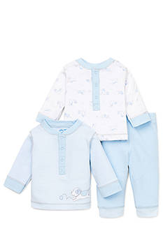 Little Me Playful Puppies 3-Piece Pant Set