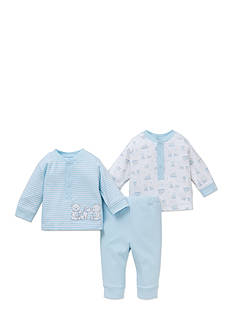 Little Me 3-Piece Long Sleeve Tee and Pant Set