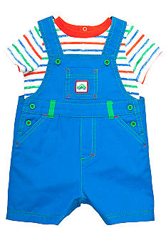 Little Me 2-Piece Overall Set