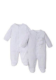 Little Me 2-Pack Footie Set