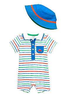 Little Me Romper With Hat