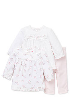 Little Me Dainty Rosebud 2-Piece Tunic & Legging Set