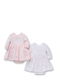 Little Me 2-Pack Gentle Blooms Dress