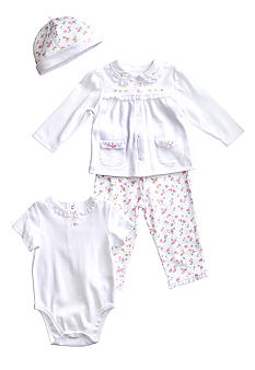 Little Me Dainty Blossom 4 piece Take Me Home Set