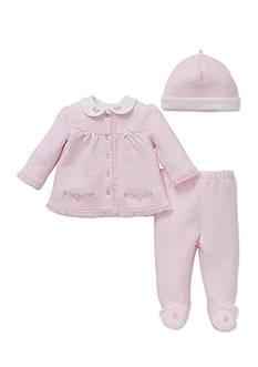 Little Me 3-Piece Bouquet Tunic, Hat, and Pants Set