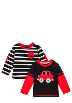 Little Me Long Sleeve 2-Pack Layering Tee Shirts