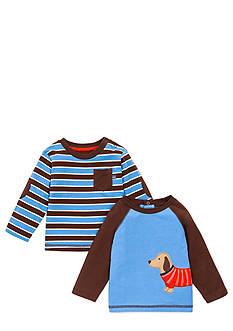 Little Me 2-Pack Raglan Tee Shirt