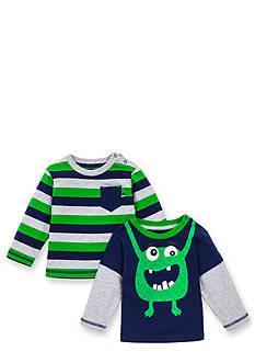 Little Me Long Sleeve Tee Shirt Mixed 2-Pack