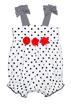 Little Me Polka Dot Sunsuit