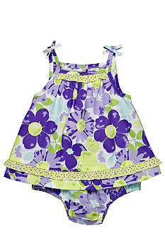 Little Me Floral 2-Piece Dress Set