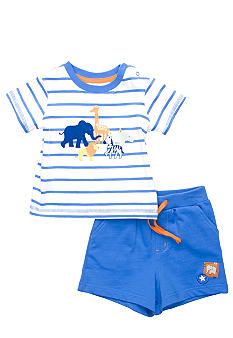 Little Me Safari Short Set