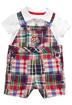 Little Me 2-Piece Teddy Shortall Set