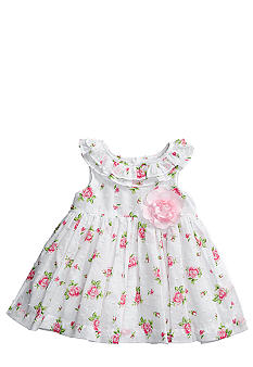 Little Me Rose Print Dress