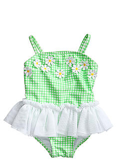 Little Me One Piece Daisy Swimsuit