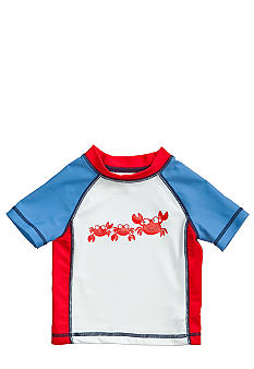 Little Me Happy Crab Rash Guard
