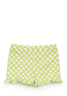 Nursery Rhyme Play™ Polka Dot Ruffle Short