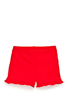 Nursery Rhyme Play™ Solid Ruffle Shorts