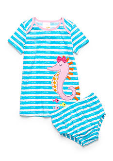 Nursery Rhyme Play™ 2-Piece Novelty Knit Dress and Bloomers Set