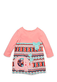 Nursery Rhyme Play™ Empire Waist Multi-Pattern Dress