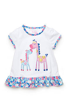 Nursery Rhyme Play™ Short Sleeve Giraffe Top
