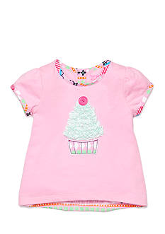 Nursery Rhyme Play™ Ruffle Cupcake Tunic Top