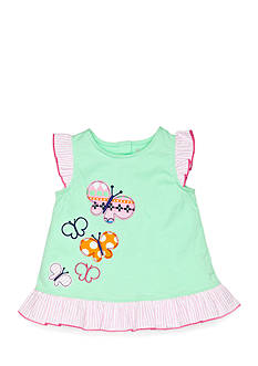 Nursery Rhyme Play™ Ruffle Hem Butterfly Tunic Top