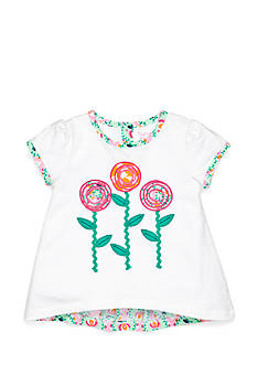 Nursery Rhyme Play™ Ruffle Back Floral Top