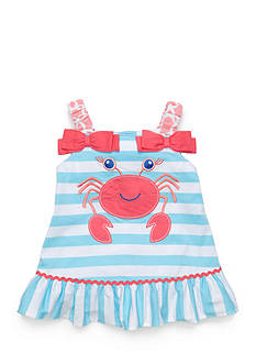 Nursery Rhyme Play™ Novelty Stripe Ruffle Tank