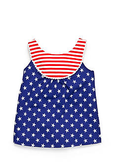 Nursery Rhyme Play™ Patriotic Bow Back Top