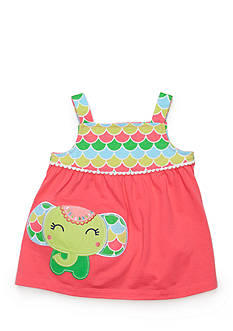 Nursery Rhyme Elephant Babydoll Dress
