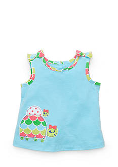 Nursery Rhyme Turtle Tank Babydoll Top