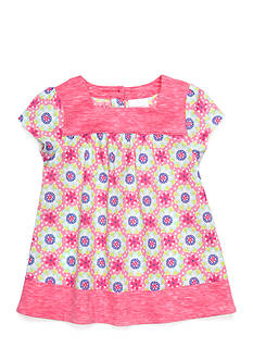 Nursery Rhyme Mixed Print Knit Top
