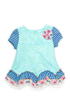 Nursery Rhyme Ruffled Tunic Top