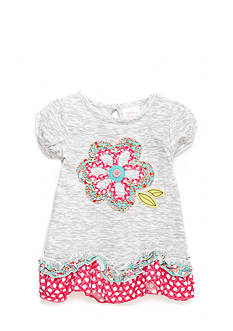 Nursery Rhyme Ruffled Short Sleeve Top