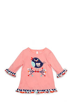 Nursery Rhyme Ruffle Hem Songbird Top