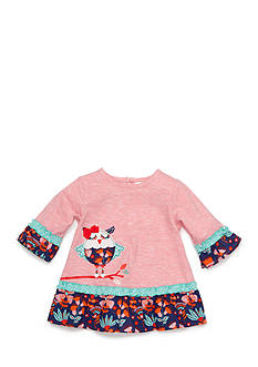 Nursery Rhyme Solid Knit Owl Top