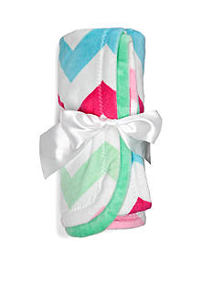 Nursery Rhyme Chevron Roll-up Blanket