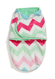 Nursery Rhyme Multi Chevron Baby Swaddle Blanket
