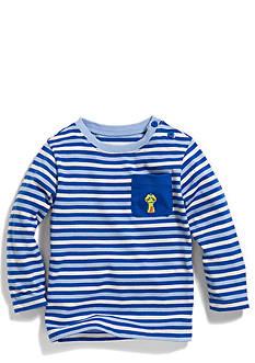 Nursery Rhyme Play™ Long Sleeve Striped Pocket Tee