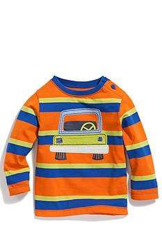 Nursery Rhyme Play™ Long Sleeve Stripe Novelty Crew Top